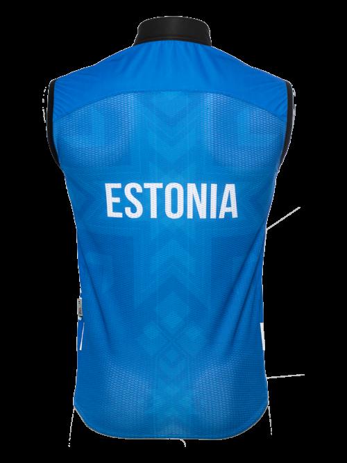 Rahvuslik Eesti koondise ratturivest kaitseb tuule ja külma eest