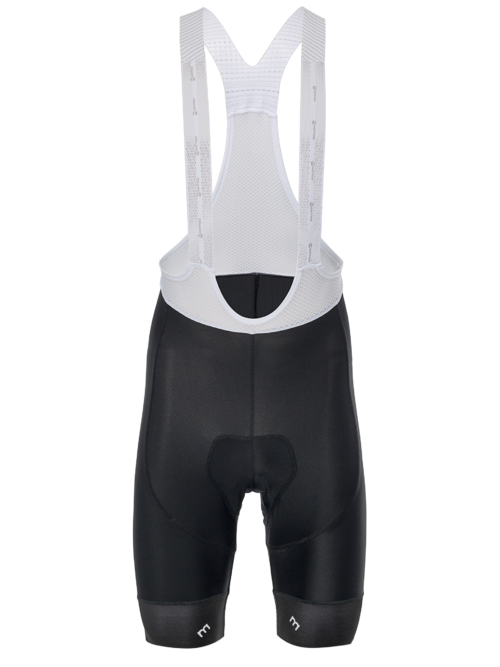 Cycling Bib Short Pro Grey Logo