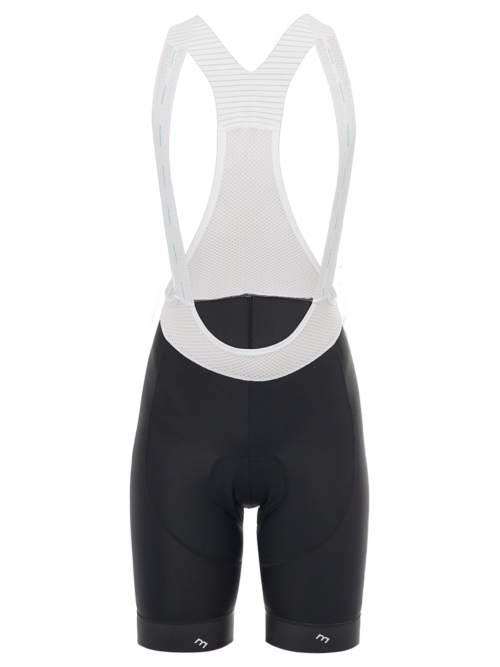 Women's Pro Bib Short Front Black
