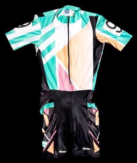 Erika Salumäe's Olympic TT suit