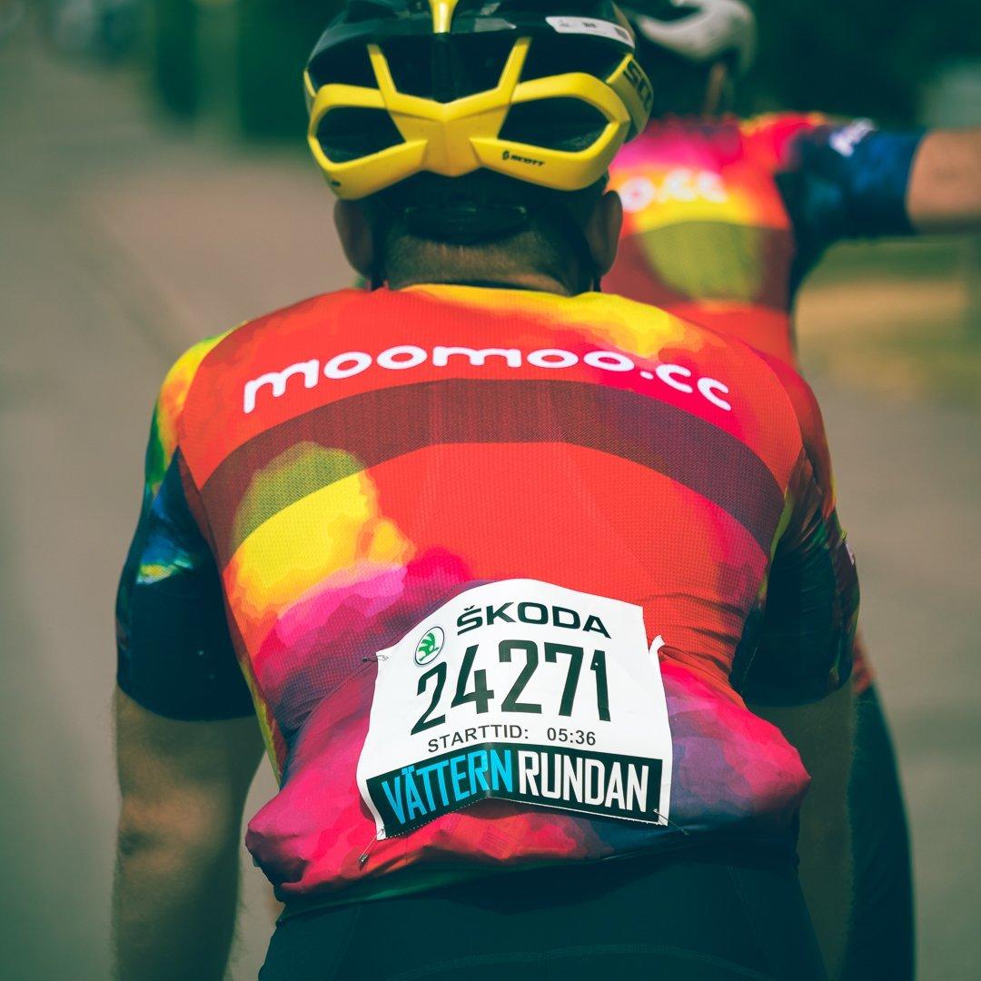 Meeste lühike rattasärk Pro Race on moomoo kõige aerodünaamisel rattasärk
