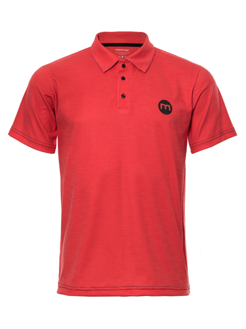 Custom Men's Merino wool polo shirt