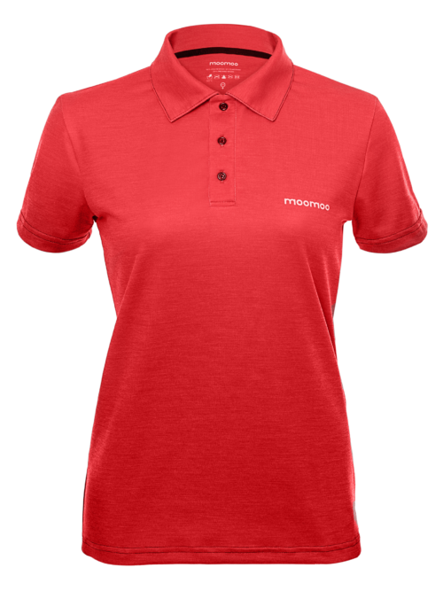 Women's custom sport polo shirt