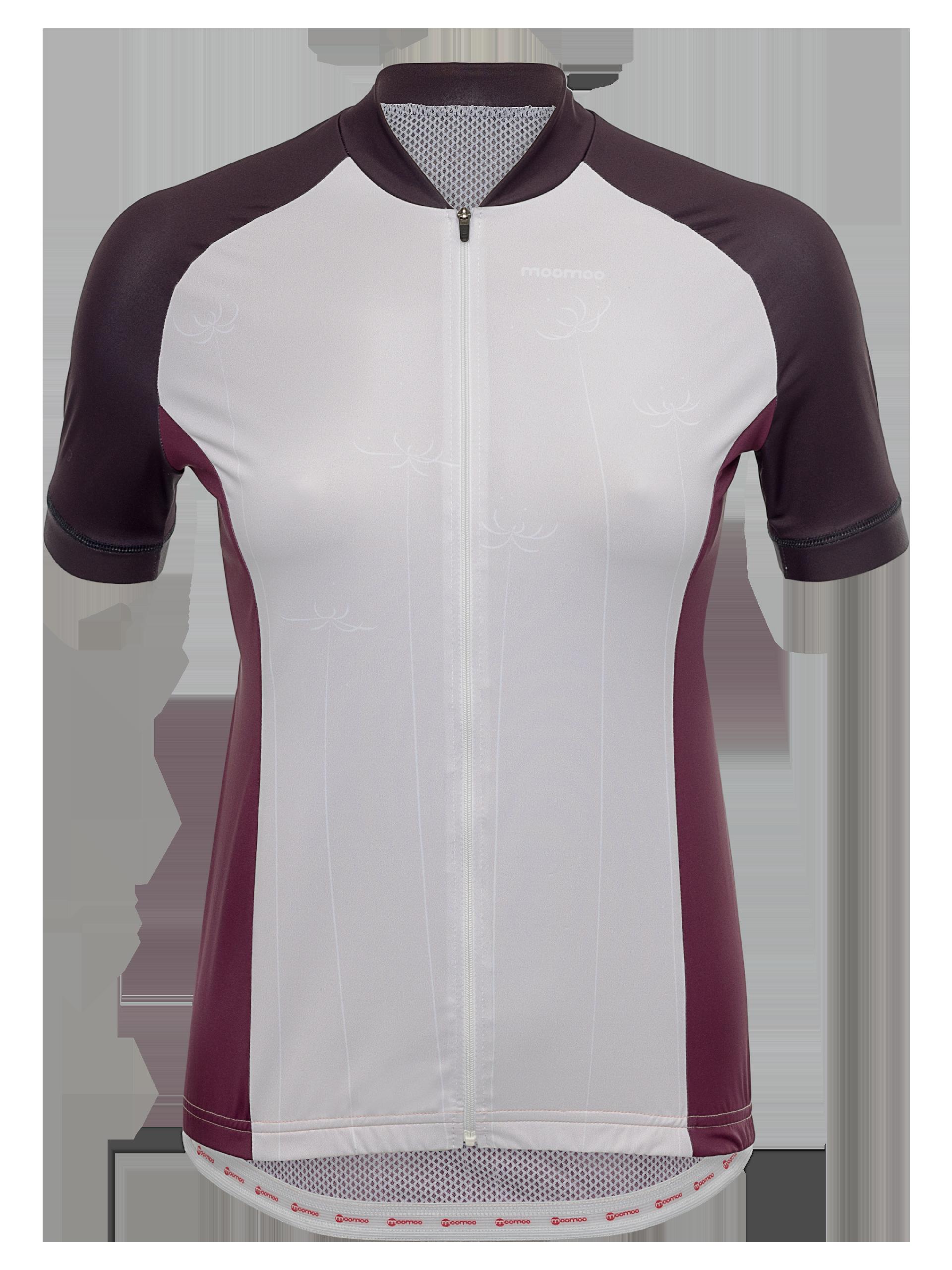 5b2fbdb552e Flash cycling apparel collection | Women's Jersey | Petal Burgundy ...
