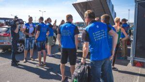 eestlased Svensk Klassikieri osavõistluse raames Vätternrundani rattasõidul