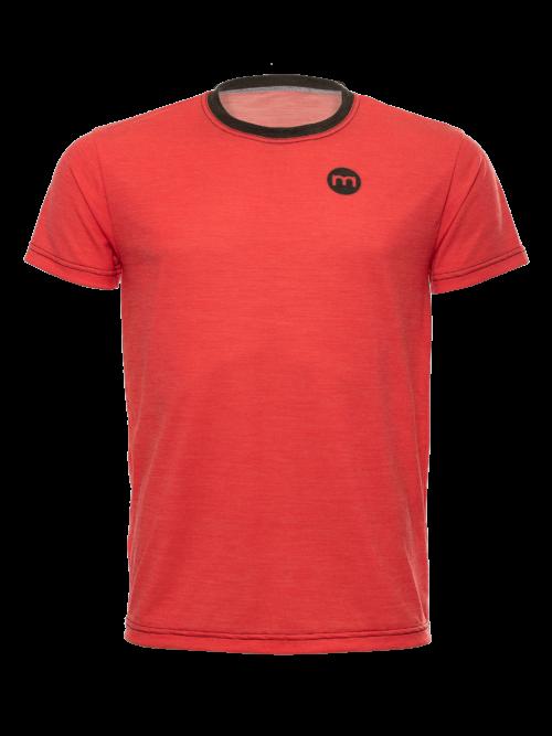 Oma disainiga meriinovillast meeste t-särk igapäevaseks kandmiseks