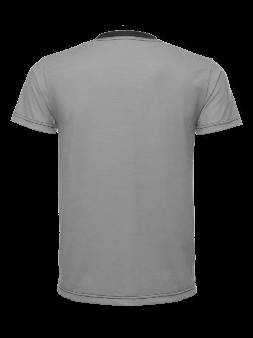 Oma disainiga nahasõbralik meriinovillast t-särk igapäevaseks kandmiseks