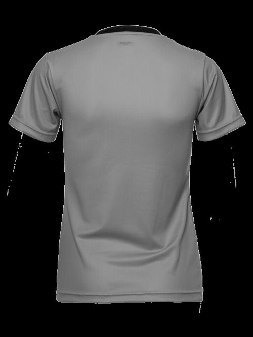 Oma disainiga funktsionaalne polüestrist t-särk sportimiseks